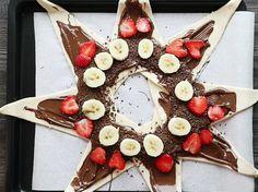 Schnell zubereitet und super lecker: Die Nutella-Blätterteig-Taschen mit Früchten schmecken einfach köstlich.