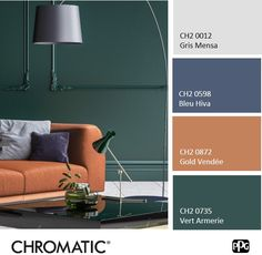 The leather tone warmly highlights the 2019 Chromed Color . Color Trends, Color Combos, Pantone, Color Of The Year, Curb Appeal, Color Inspiration, Paint Colors, Art Deco, Leather
