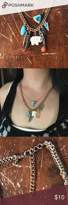 Fancy Necklace This hasn't been worn and is absolutely gorgeous!. Jewelry Necklaces