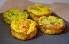 Muffins aux oeufs et légumes ww, recette des savoureux muffins facile à préparer, idéals à servir avec des plats de viande ou poisson.