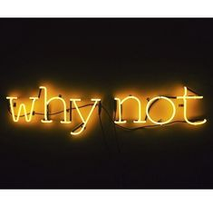 why not - Neon Gold Aesthetic, Aesthetic Colors, Aesthetic Pictures, Photo Wall Collage, Picture Wall, Orange Pastel, Neon Led, Neon Licht, Neon Quotes