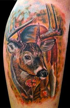 Bow hunting tattoos, Deer tattoo and Hunting tattoos on Pinterest
