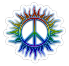 """Cool Peace Signs 