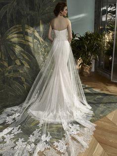 Blue by Enzoani Kodie - Vows Bridal Wedding Day Dresses, Lace Wedding Dress, Stunning Wedding Dresses, Beautiful Gowns, Beautiful Bride, Bridal Dresses, One Shoulder Wedding Dress, Bridesmaid Dresses, Wedding Stuff