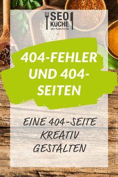 Wie ihr eine 404-Seite kreativ gestaltet, erklären wir euch in unserem Blogbeitrag!  #seokueche #onlinemarketing #onlinemarketingagentur Couples African Outfits, Seo Blog, Pinterest Profile, Future Jobs, Content Marketing, Ecommerce, Presentation, Tips, Programming
