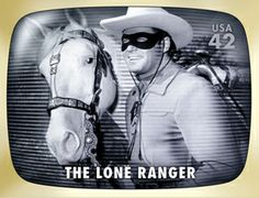 The Lone Ranger made a visit to Indianapolis when I was a little girl.  Dad and Mom took Ron and I to see him!