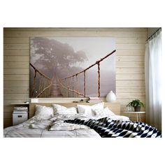 Premiar Picture. - With a large picture you can create mood and atmosphere in a whole room. 200cm wide x 140cm high. - The picture has extra depth and life because it's printed on high quality canvas. | eBay!