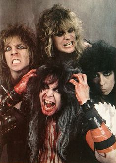 Happy New Year 2017 Hellions W.A.S.P. Animal era #wasp 80s Metal Bands, 80s Rock Bands, Hair Metal Bands, 80s Hair Bands, Cool Bands, Rock Band Posters, Religion, Heavy Metal Rock, Glam Metal
