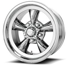 "15/"" Torq Thrust II VN515 Polished Classic Wheel 15x6 5x4.75-6mm Chevy Nova Rim"
