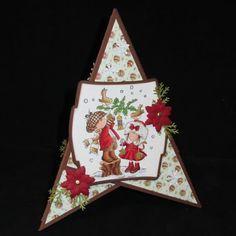 Stempeleinmaleins: Dreieckskarte/Triangle card