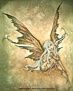 Fairy Art Artist Amy Brown: The Official Online Gallery. Fantasy Art, Faery Art, Dragons, and Magical Things Await. Dragons, Amy Brown Fairies, Dark Fairies, Fairy Tattoo Designs, Kobold, Fairy Pictures, Beautiful Fairies, Fairy Art, Illustrations