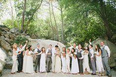 Photography: Onelove Photography - onelove-photo.com  Read More: http://www.stylemepretty.com/2014/11/07/ojai-pink-garden-wedding/