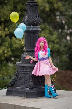 Equestria Girls Pinkie Pie ~ Sarahndipity Cosplay by pinkiespartycannon12.deviantart.com on @DeviantArt <<< Beautiful!!!