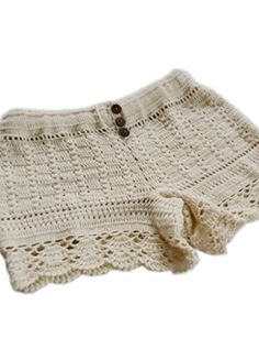 Bonita Crochet Shorts $49. These ones actually cover up your butt! I want zem >:3
