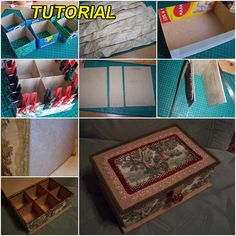 1000 images about diy jewelry boxes on pinterest - Handmade jewellery box ideas ...