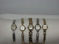 Bulova mens wittnauer gold and dial watch wittnauer pinterest 5 vintage working ladies watches 14k gold wittnauer filled plated bulova elgin various casualdress sciox Choice Image