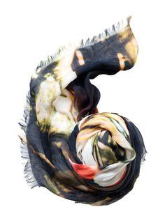 'BirdandKnoll' Cashmere blend Scarves... [Flatlay]