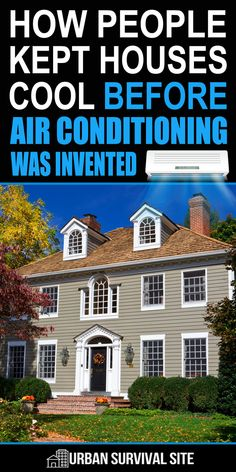Our forebears survived heat waves without air conditioning, and so can we. Here are 11 ways people kept their houses cool before AC. Urban Survival, Homestead Survival, Camping Survival, Survival Prepping, Survival Skills, Survival Gear, Survival Hacks, Survival Quotes, Emergency Preparedness
