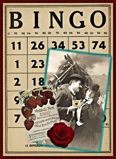 Free printable Bingo Card