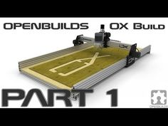 COOLNESS! Most of what you need to know to build a CNC using the INEXPENSIVE V-SLOT system.... OpenBuilds OX CNC Build Part 1