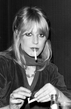 Marianne Faithfull Love this rare 70s photo of her! (Via Faithfull Forever)