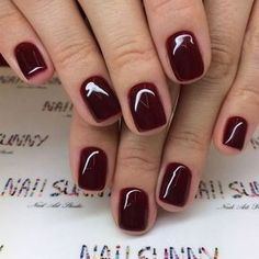 Je tiefer der Fall, desto dunkler die Nägel Malaga Wine OPI # The deeper the case, the darker the nails Malaga Wine OPI # Toe Nail Color, Nail Polish Colors, Winter Nails Colors 2019, Fall Nail Colors, Dipped Nails, Fall Nail Designs, Art Designs, Nagel Gel, Powder Nails