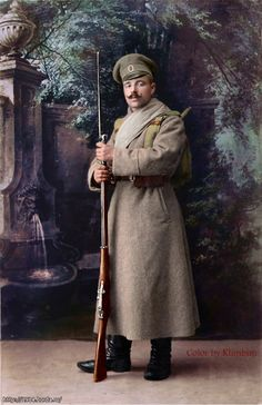 Russian infantryman, WWI
