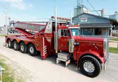 Peterbilt wrecker ★