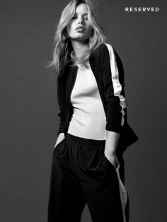 Georgia May Jagger in Reserved 2015 campaign Photoshoot