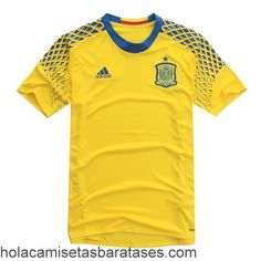 Camiseta Portero Segunda España Euro 2016  €20.5