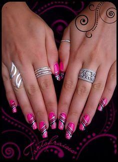 Nail Art on my nails by Tartofraises - Nail Art Gallery nailartgallery.nailsmag.com by Nails Magazine www.nailsmag.com #nailart