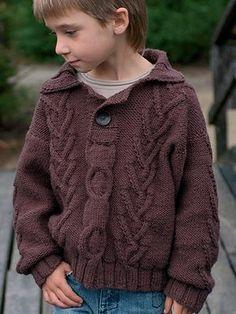 FREE Mitchel pattern | Knitting Fever