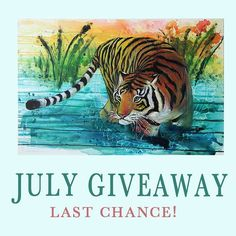 Last change to enter the contest!  Tag 3 friends and follow @nimue_tigressart and you're nearly done!