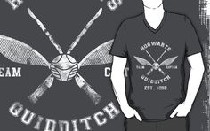 Hogwarts Quidditch Athletic Tee Harry Potter Shirt $26.40