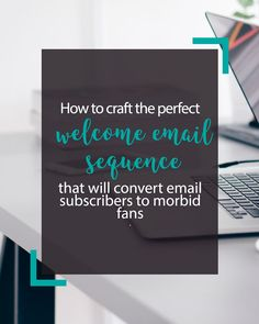 Writing a welcome email sequence will not only increase the amount of revenue you make from your subscribers but it also helps you create a long-term engagement and connection with your subscriber.