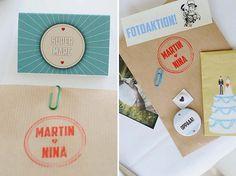 alternative vintage wedding stationery