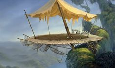 Animation Backgrounds: TARZAN (Disney, 1999)