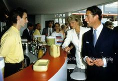 1987-05-15 Diana and Charles at the British Film Pavilion, Cannes Film Festival, France
