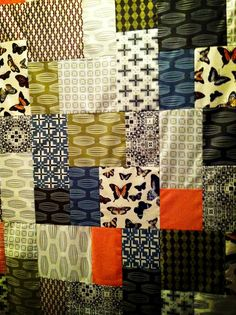 Quilt/mostly Parson Gray fabrics