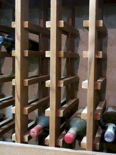 Diy Wood Wine Rack Plans - Diy Wood Wine Rack Plans , Lattice Wine Rack Plans by Buck Cpa Lumberjocks Wine Rack Cabinet, Wine Rack Storage, Woodworking Projects Diy, Woodworking Plans, Diy Projects, Woodworking Store, Woodworking Chisels, Workbench Plans, Woodworking Workshop
