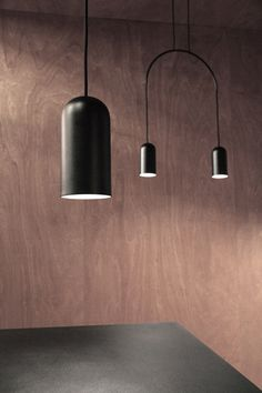 BOW | lamp collection designed by david dolcini STUDIO for tossB #closeup #tossB #lamp #lighting #totalblack #metal #minimal #design #daviddolcini #daviddolcinistudio