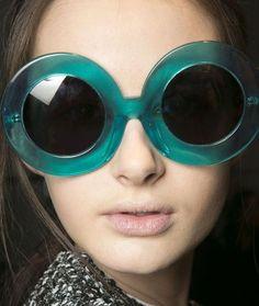 Karen Walker Fall Sunglasses After Dark. Sunglasses Outlet, Ray Ban Sunglasses, Crazy Sunglasses, Sports Sunglasses, Round Sunglasses, Oversized Sunglasses, Glasses Frames, Eye Glasses, Shady Lady