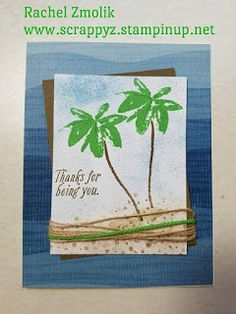 Palm Trees with Avant Garden! Get beachy with By the Shore dsp! by ScrappyZ