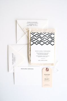 etsy; love this line of pattern along with white space and simple lettering; A FAVORITE