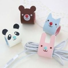 Buy Home Simply Animal Cable / Earphone Organizer at YesStyle.com! Quality products at remarkable prices. FREE Worldwide Shipping available!