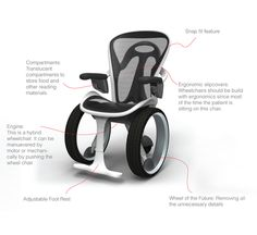 Wheelchair Concept on Industrial Design Served Another interesting design...I am curious to see how seating evolves.