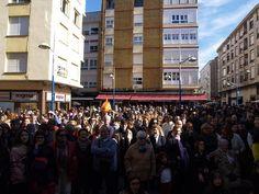 La Plaza del Peralvillo durante las Coplillas al Besugo.  En Carnavales... ¡Santoña te espera!