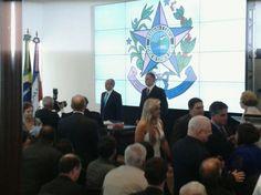 Momentos inicias da cerimônia de transmissão de cargo de Governador do Estado do Espírito Santo, que tive a grata satisfação de conduzir como mestre de cerimônias Foto: Gazeta Online