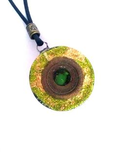 Orgonite pendant by ORGONITHEKA on Etsy