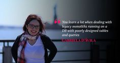 """""""Knowing the business is fundamental to having an effective Data Warehouse,"""", Gabriela D'Avila Discusses Database Systems D Avila, Warehouse, Interview, Learning, Business, Storage, Teaching, Syllable, Studying"""